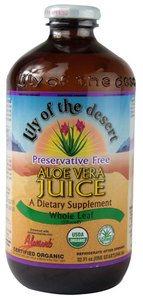 Organic Aloe Vera Juice Whole Leaf